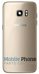 Genuine Samsung Galaxy S7 Edge G935F Battery Back Cover Rose Gold - Part No: GH82-11346E